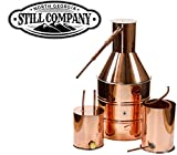 5 Gallon Copper Moonshine Still with Worm and Thumper by North Georgia Still Company