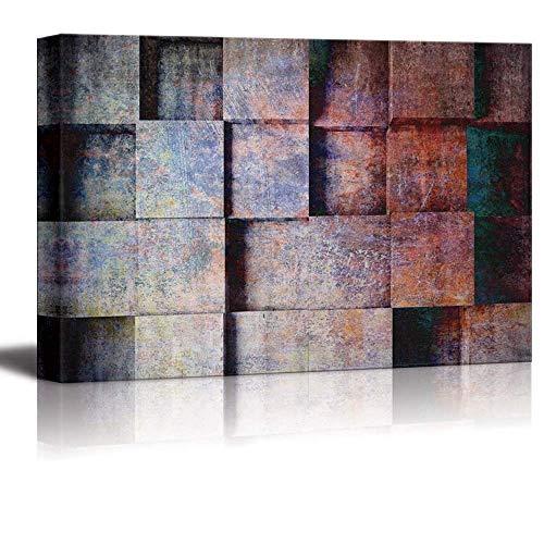 LEO BON Wall Art for Home Decor Square Abstract Art Canvas - Canvas Art Home Decor - 12