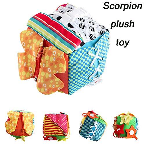Children Educational Development Rubik Cube Baby Fabric Scorpion