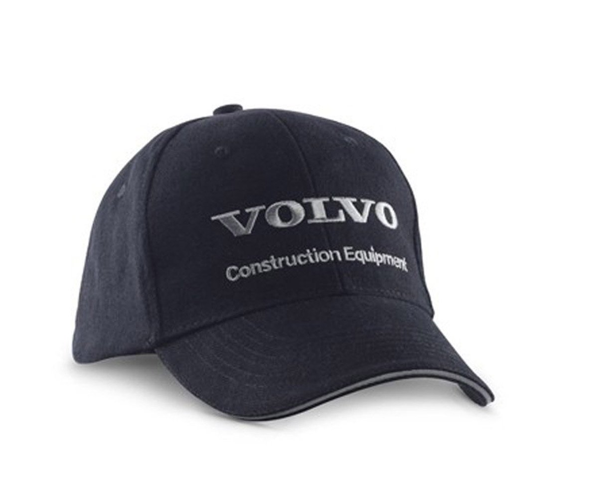 Volvo CE Construction Equipment Promotional Black Cap