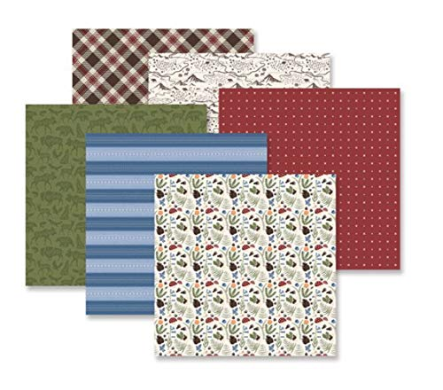 Explorer Outdoor Designer Paper Pack 12/Sheets Double Sided Paper 12x12 by Creative Memories