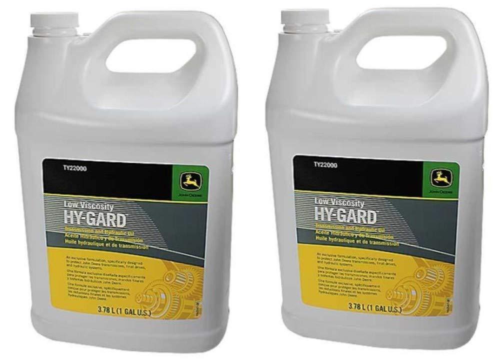 John Deere Original Equipment (2) Gallons of Hy-Gard Transmission & Hydraulic Oil #. (2) by John Deere