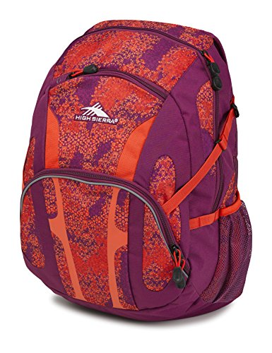 High Sierra Composite Backpack, Moroccan Tile/Berry Blast/Redline ()