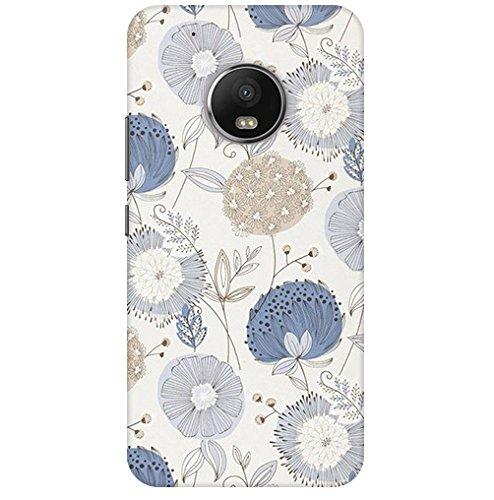 Patterncreations Sunflowers Art Pattern Printed Designer Slim Light Weight Back Cover for Motorola Moto G5 Plus Back Case