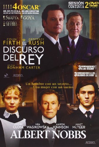 Pack: El Discurso Del Rey + Albert Nobbs (Import Movie) (European Format - Zone 2) (2012) Colin Firth; Glen