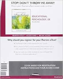 educational psychology woolfolk 13th edition pdf free