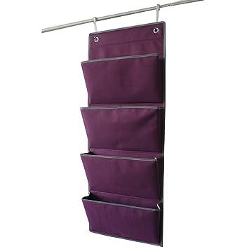 4 Pocket Hinter Tür Wand aufhängen Bag Oxford Stoff Kleiderschrank ...
