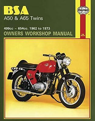 Haynes Manuals Bsa A50/A65 61-73 N/Amanual Bsa A50/A65 61 73 M155 New