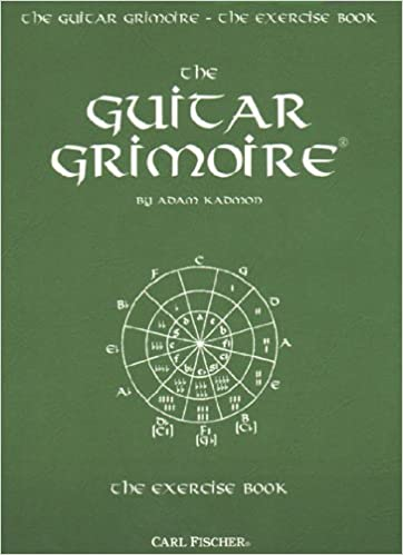 Exercise Book Guitar Adam Kadmon 9780825835650 Books Amazon