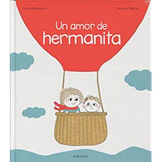 Un amor de hermanita book jacket