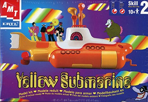 yellow submarine model kit - 4