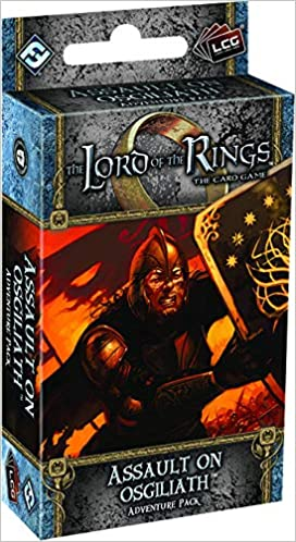 The Lord Of The Rings Lcg Assault On Osgiliath Adventure Pack