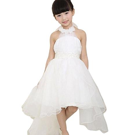 Yesmile - Vestidos para niñas, vestido para bodas, concursos, vestido de princesa,