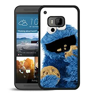 Beautiful Designed Case With cookie monster Black For HTC ONE M9 Phone Case