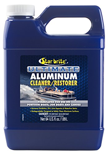 Price comparison product image Star Brite Ultimate Aluminum Cleaner & Restorer - Safely Clean Pontoon Boats,  Jon Boats & Canoes