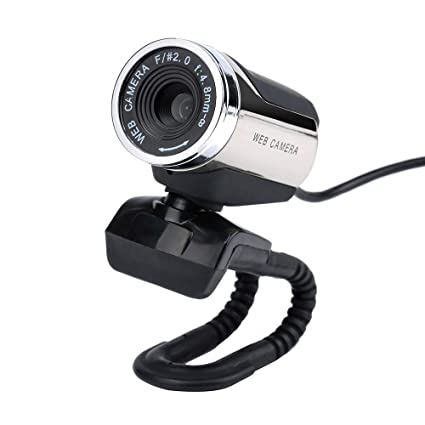 4 LED USB 2.0 HD Webcam Camera Web Cam With Microphone Mic For PC Desktop