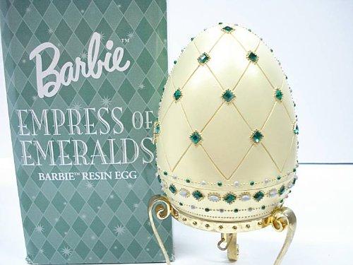Barbie Empress Of Emeralds Musical Resin Egg by Avon