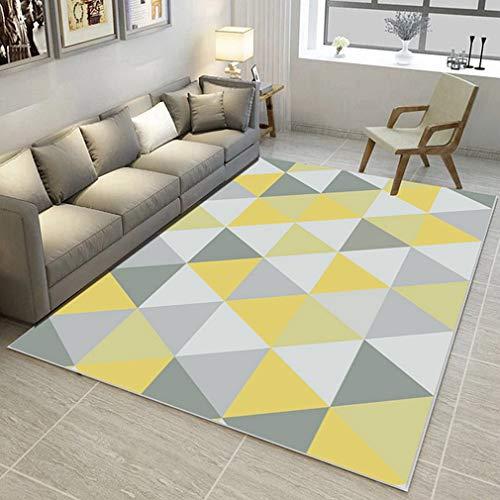 GIY Geometric Living Room Area Rugs 3D Rug Rectangular Carpets Children Bedroom Mats Outdoor Indoor Home Decor Runners 2' X 2.5'