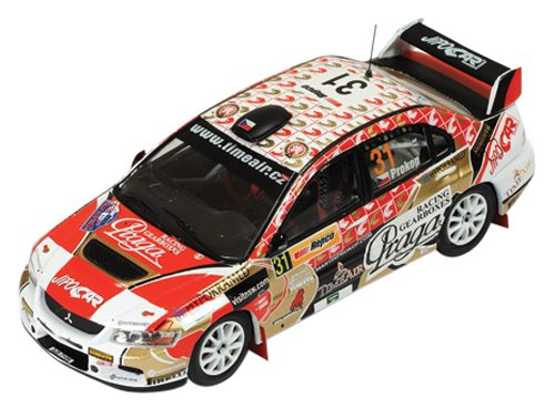 1/43 三菱LANCER EVO IX 2009年P-WRC Australli #31 M.Prokop/J.Tomanek Winner RAM395