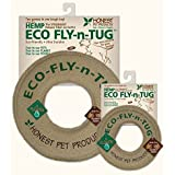 """Honest Pet Products 10"""" Eco Fly-n-Tug Toy for Dogs"""