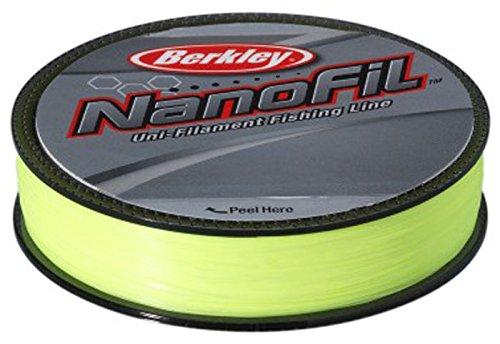 Berkley Nanofil 300yd Uni-Filament Fishing Line Hi-Vis Chartreuse (12lb)