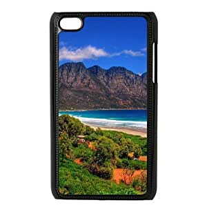 Custom Case for Ipod Touch 4 with Good mood beautiful scenery ssu_7630721 at SHSHU