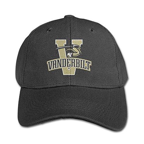 ACMIRAN Vanderbilt University Funny Sunshade Hat One Size Black