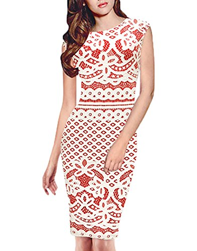WOOSEA-Womens-Elegant-Sleeveless-Crochet-Lace-Cocktail-Party-Pencil-Dress