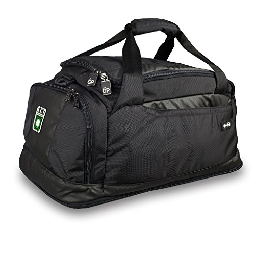Genius Pack 20'' Carry On Duffle Bag w/ Integrated Garment Suiter by Genius Pack