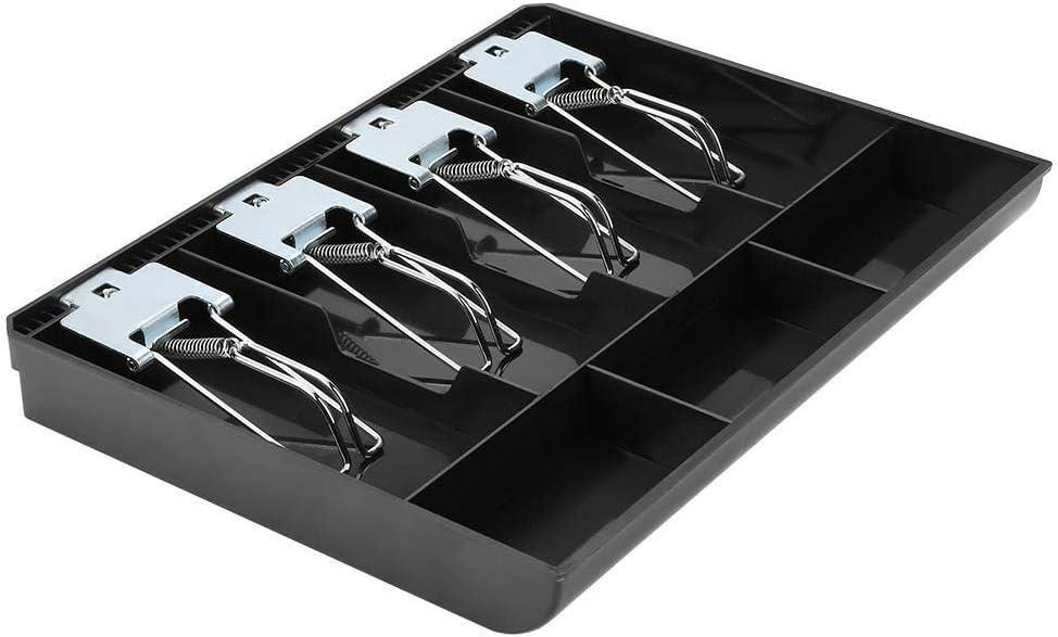Cashier Box Maxmartt black Cash Drawer Register Insert Tray ...