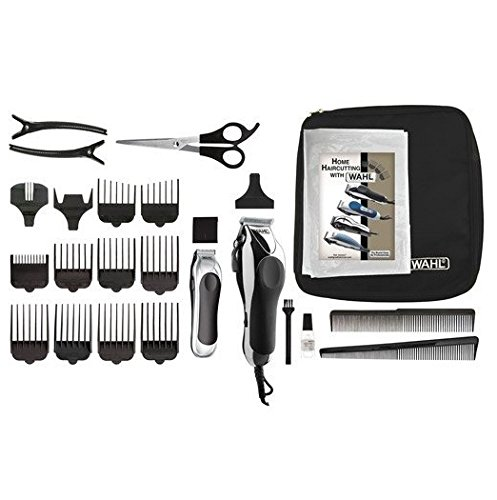 WAHL Deluxe Chrome Pro Home Haircutting Kit by Wahl