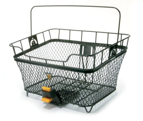 Topeak MTX Rear Bicycle Basket (Basket Mounted Wicker Bike Rear)