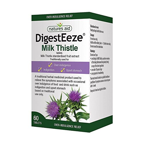(Natures Aid DigestEeze Milk Thistle 150mg 60 tablet )