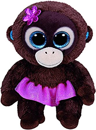 9b1a3963d9f TY Beanie Boo Plush - Nadya The Monkey 15 centimetres  Amazon.com.au ...