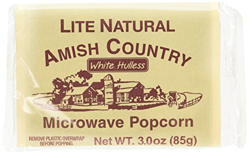 White Hulless Microwave Popcorn 10 product image
