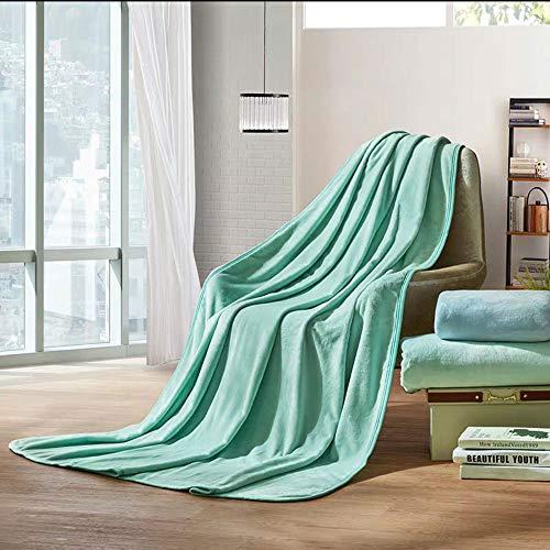 Vert grand Canapé Couverture Moderne Minimaliste Multi-Taille Salon Chaise Chaise Chambre Lit Antibactérien Anti-avoitureiens Couleur Unie Couverture De Canapé (Couleur   Vert, Taille   L)