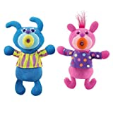 SingAMaJig Deluxe Singing Plush Figures Pink and Teal