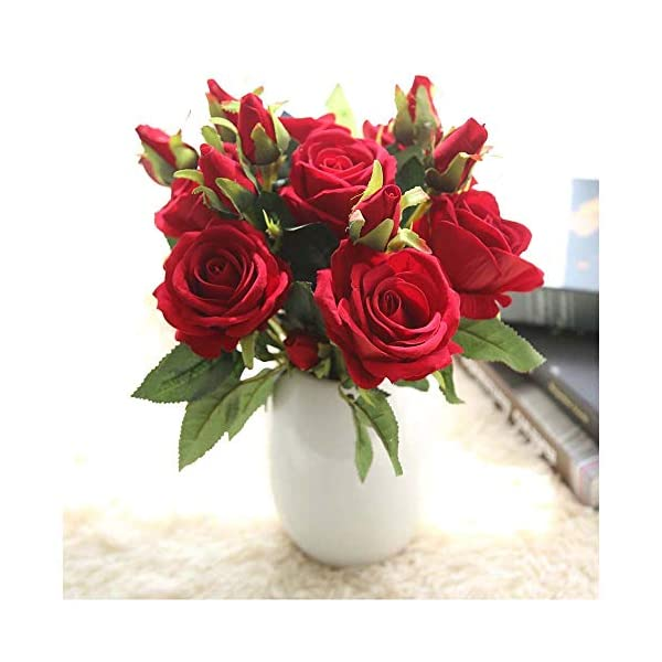 Naiflowers-Artificial-Flower1PC-Artificial-Fake-Rose-Floral-DIY-Bridal-Bouquets-Real-Looking-Silk-Flower-with-Plastic-Stem-for-Home-Wedding-Party-Decoration-B