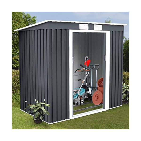 Goplus-4-X-7-Outdoor-Storage-Shed-Garden-Tool-House-Outside