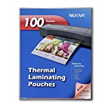 Nuova 100-Pack, 5 Mil Thermal Laminating Pouches 9 x 11.5 Inches, Letter Size