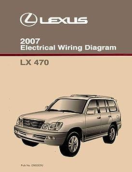 Amazon.com: bishko automotive literature Wiring Diagrams Schematics Layout  Factory for The 2007 Lexus LX 470: AutomotiveAmazon.com
