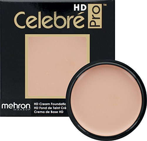 Mehron Makeup Celebre Pro-HD Cream Face & Body Makeup (.9oz) (MEDIUM MALE)