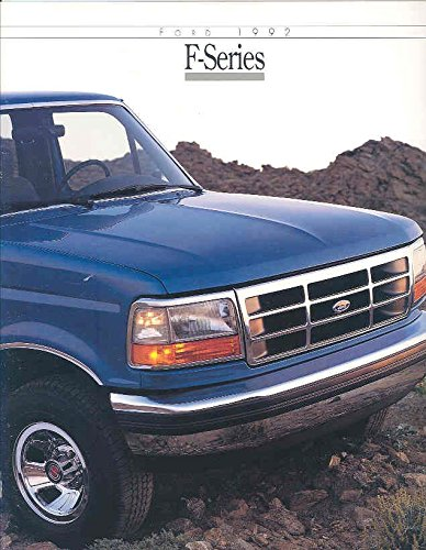 Ford F150 Collectibles - 1992 Ford F150 F250 F350 Truck Brochure