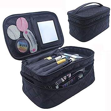 Amazon.com : Bolsa De Maquillaje Viaje Cosmtico Organizador ...