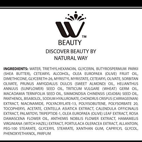 51CK38CmPQL - WBM Restoring Night Cream For Face   Anti-Aging Retinol Cream Moisturizer   Skin Renewing Face Cream With Hydro-Rich Essence   1.7 Oz