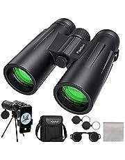 Usogood 12x50 Binoculars for Adults with Tripod, High Power Binoculars for Bird Watching, Stargazing, Traveling and Hiking, Smart Phone Adaptor for Photography