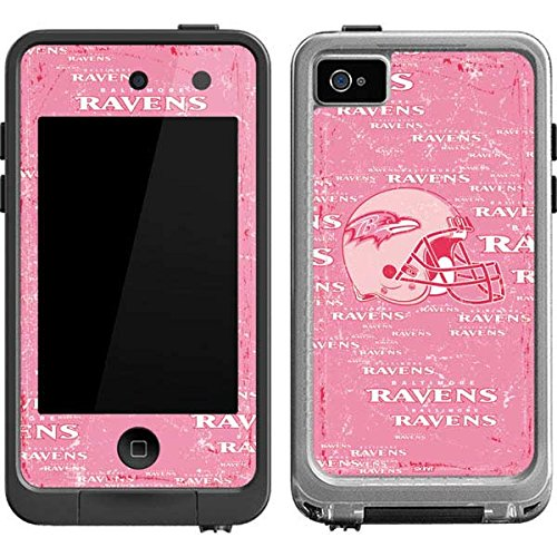 Baltimore Ravens Ipod Skin (NFL Baltimore Ravens LifeProof fre iPod Touch 4th Gen Skin - Baltimore Ravens - Blast Pink)