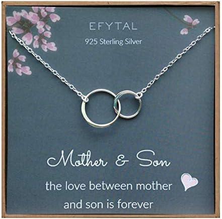 EFYTAL Mother Son Necklace Interlocking product image