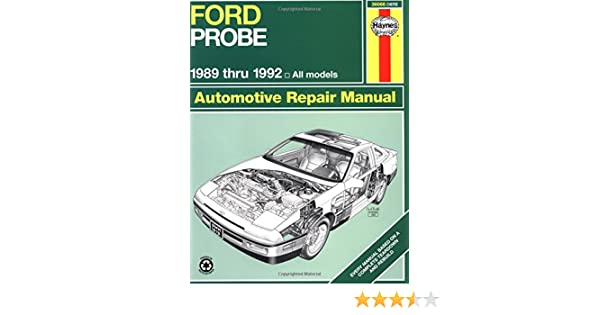Ford probe 1989 thru 1992 all models haynes automotive repair ford probe 1989 thru 1992 all models haynes automotive repair manual haynes repair manuals haynes 9781563920899 amazon books fandeluxe Choice Image