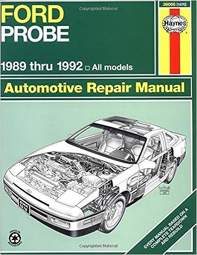Ford Probe  8992 (Haynes Manuals)